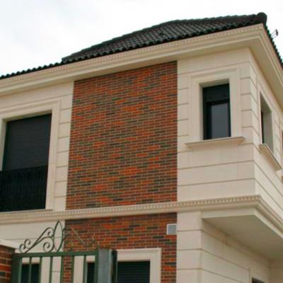 Molduras decorativas para exterior